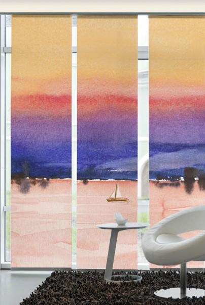 Sunrise Flächenvorhänge 3-teiliges Set