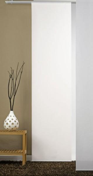 Natur-Weiß Schiebevorhang 1-teilig