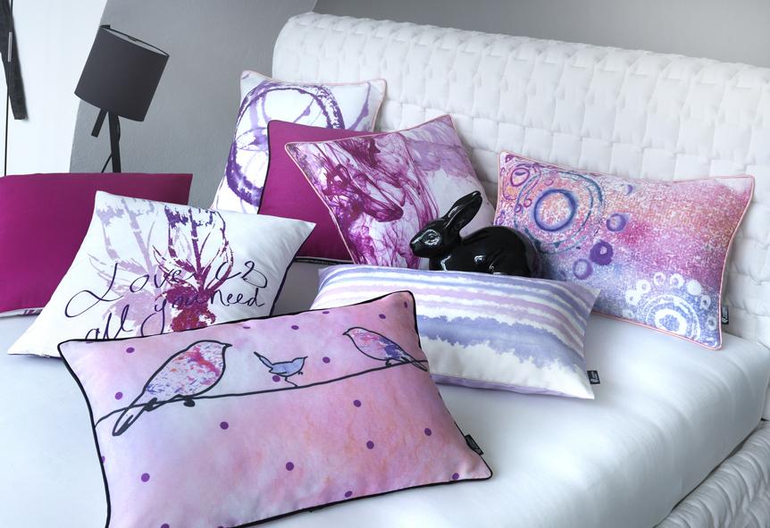 Kissenhüllen und Kissenbezüge im modernen Design.