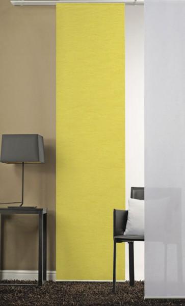 Gelb Schiebevorhang 1-teilig