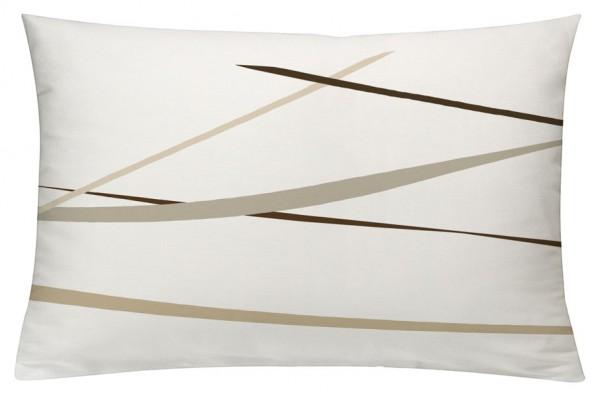 Linien BeigeBraun - Kissenhülle 60 x 40 cm