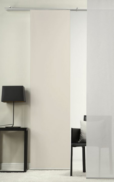 Sepia Schiebevorhang 1-teilig