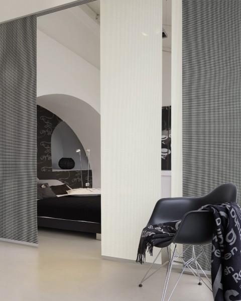Sound white Raumtrenner Flächenvorhang 1-teilig - Stoffartwahl nicht möglich