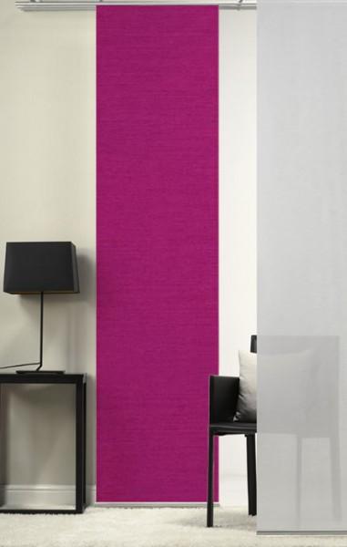 Pink Schiebevorhang 1-teilig