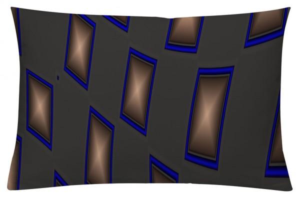 NewWave Grau - Kissenhülle 60 x 40 cm