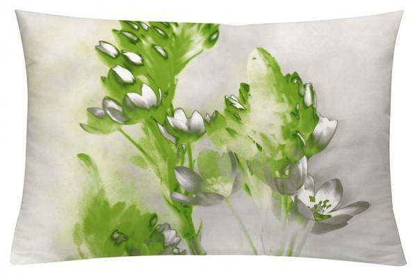 Floralzauber Grün - Kissenhülle 60 x 40 cm