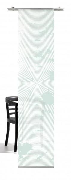 Weihnachten Hirsch (Zielscheibe) Pastell-mint Flächenvorhang 1-teilig