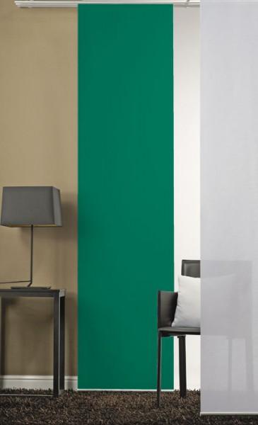 Grün, flaschengrün Schiebevorhang 1-teilig